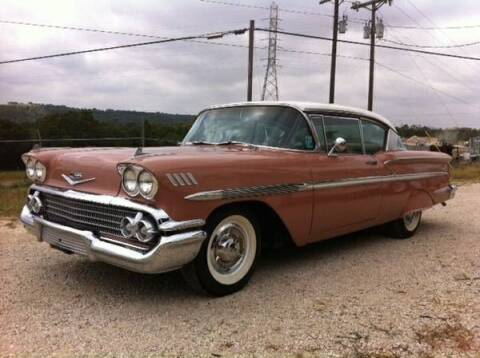 1958 Chevrolet Bel Air for sale at Haggle Me Classics in Hobart IN