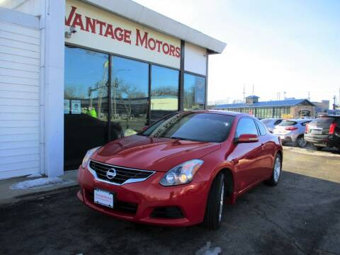 2012 Nissan Altima for sale at Vantage Motors LLC in Raytown MO