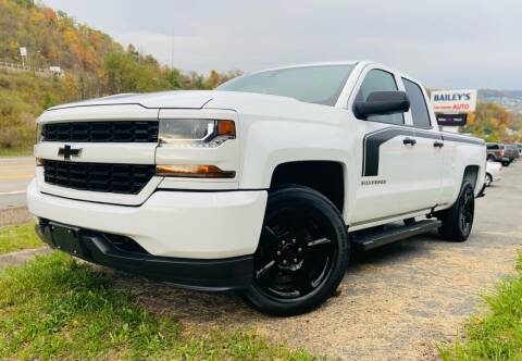 2017 Chevrolet Silverado 1500 for sale at Bailey Brand in Clarksburg WV