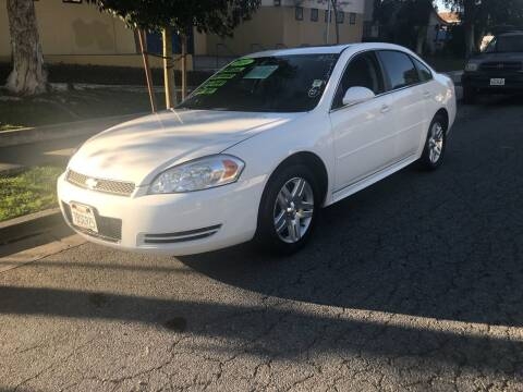 2014 Chevrolet Impala Limited for sale at LA PLAYITA AUTO SALES INC - 3271 E. Firestone Blvd Lot in South Gate CA