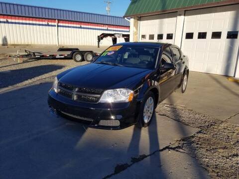 2011 Dodge Avenger for sale at Bull Mountain Auto, Truck & Trailer Sales in Roundup MT