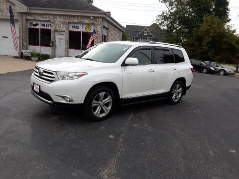 2012 Toyota Highlander for sale at Scotts Tyler Auto Sales in Wilmington IL