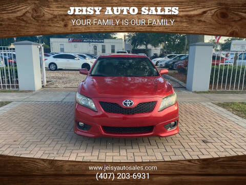 2011 Toyota Camry for sale at JEISY AUTO SALES in Orlando FL