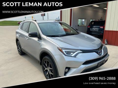 2017 Toyota RAV4 Hybrid for sale at SCOTT LEMAN AUTOS in Goodfield IL