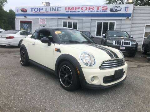 2013 MINI Coupe for sale at Top Line Import of Methuen in Methuen MA