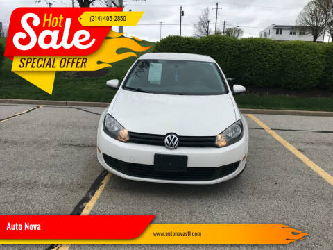 2012 Volkswagen Golf for sale at Auto Nova in St Louis MO