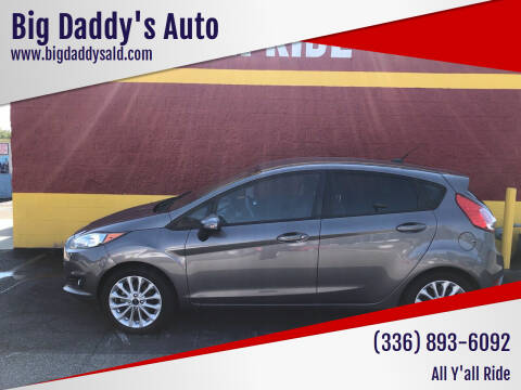 2014 Ford Fiesta for sale at Big Daddy's Auto in Winston-Salem NC