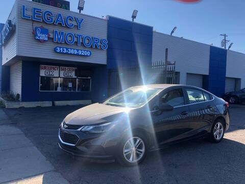 2017 Chevrolet Cruze for sale at Legacy Motors in Detroit MI