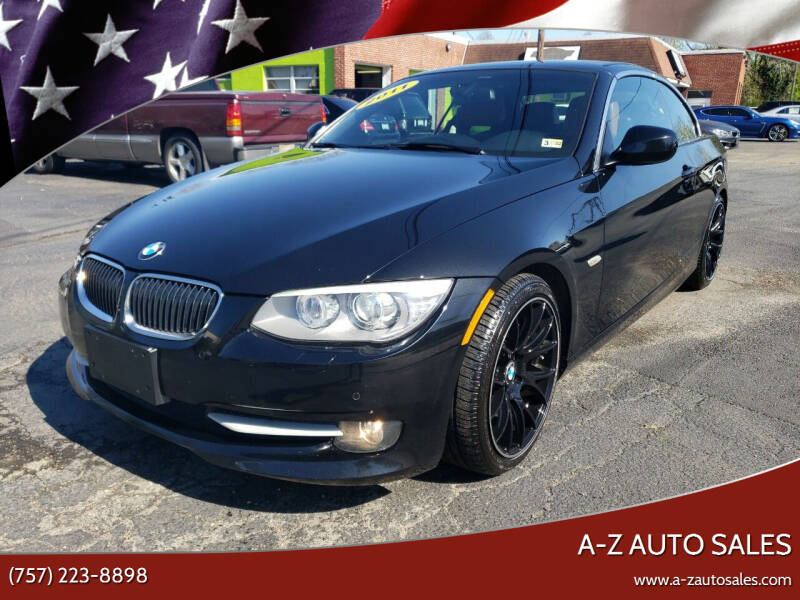 2011 BMW 3 Series for sale at A-Z Auto Sales in Newport News VA