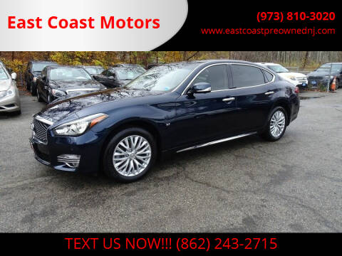 2016 Infiniti Q70L for sale at East Coast Motors in Lake Hopatcong NJ