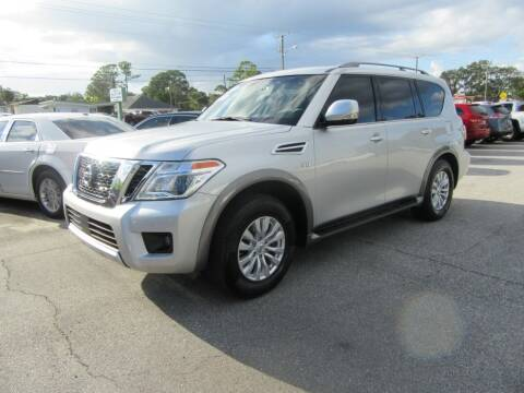 2017 Nissan Armada for sale at ARENA AUTO SALES,  INC. in Holly Hill FL