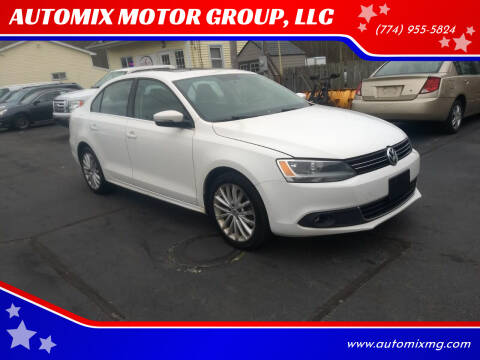 2011 Volkswagen Jetta for sale at AUTOMIX MOTOR GROUP, LLC in Swansea MA