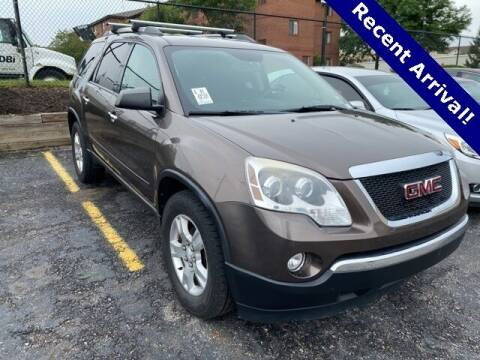 2012 GMC Acadia for sale at Vorderman Imports in Fort Wayne IN