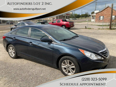 2013 Hyundai Sonata for sale at Autofinders in Gulfport MS