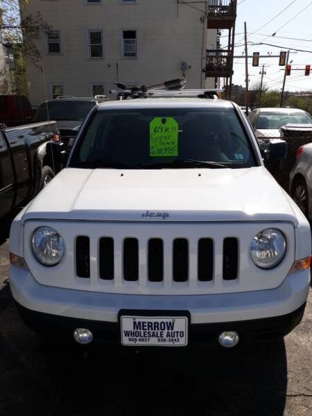 2014 Jeep Patriot for sale at MERROW WHOLESALE AUTO in Manchester NH