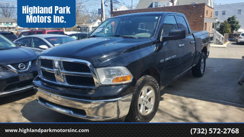 2012 RAM Ram Pickup 1500 for sale at Highland Park Motors Inc. in Highland Park NJ