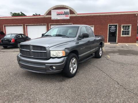 2005 Dodge Ram Pickup 1500 for sale at Family Auto Finance OKC LLC in Oklahoma City OK