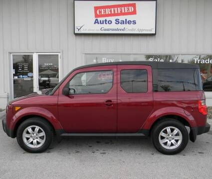 2008 Honda Element for sale at Certified Auto Sales in Des Moines IA
