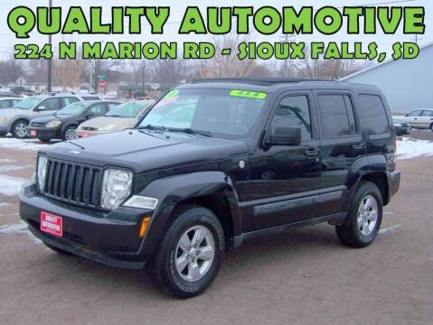 2011 Jeep Liberty for sale at Quality Automotive in Sioux Falls SD