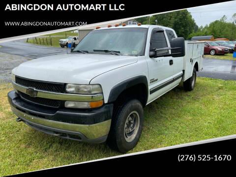 2001 Chevrolet Silverado 2500HD for sale at ABINGDON AUTOMART LLC in Abingdon VA