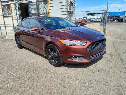 2016 Ford Fusion for sale at Advantage Motorsports Plus in Phoenix AZ