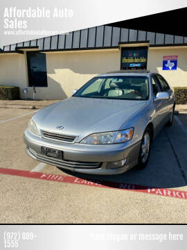 2001 Lexus ES 300 for sale at Affordable Auto Sales in Dallas TX