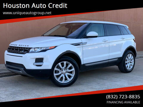2014 Land Rover Range Rover Evoque for sale at Houston Auto Credit in Houston TX