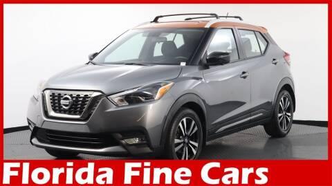 2018 Nissan Kicks for sale at Florida Fine Cars - West Palm Beach in West Palm Beach FL