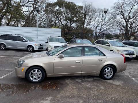 2005 Cadillac CTS for sale at JMAC AUTO SALES in Houston TX