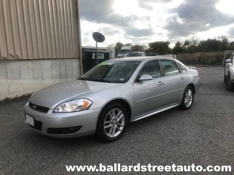 2016 Chevrolet Impala Limited for sale at Ballard Street Auto in Saugus MA