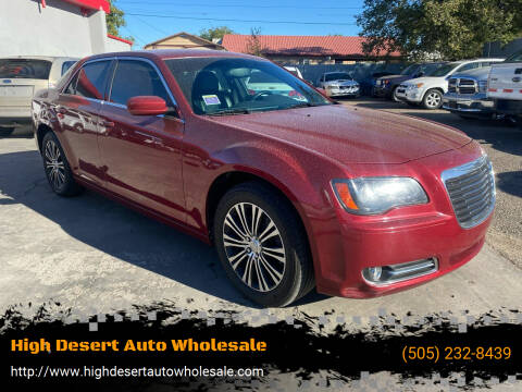 2014 Chrysler 300 for sale at High Desert Auto Wholesale in Albuquerque NM