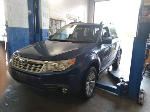 2013 Subaru Forester for sale at Cammisa's Garage Inc in Shelton CT