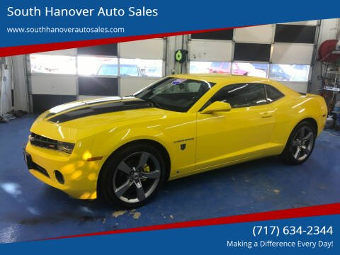2010 Chevrolet Camaro for sale at South Hanover Auto Sales in Hanover PA