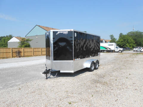 2021 Homesteader Intrepid 7x14 for sale at Jerry Moody Auto Mart - Trailers in Jeffersontown KY