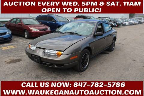 2000 Saturn S-Series for sale at Waukegan Auto Auction in Waukegan IL