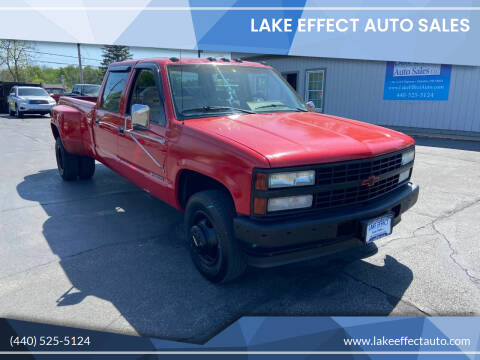 1992 Chevrolet C/K 3500 Series for sale at Lake Effect Auto Sales in Chardon OH