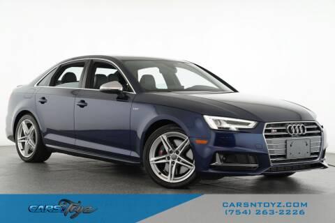 2018 Audi S4 for sale at JumboAutoGroup.com - Carsntoyz.com in Hollywood FL