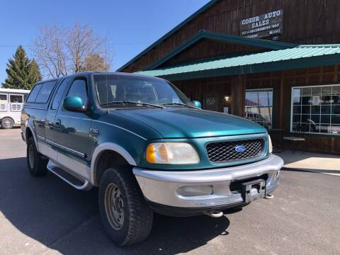 1997 Ford F-150 for sale at Coeur Auto Sales in Hayden ID