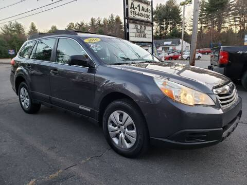 2010 Subaru Outback for sale at A-1 Auto in Pepperell MA