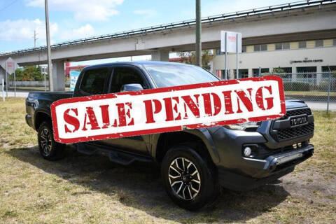 2020 Toyota Tacoma for sale at ELITE MOTOR CARS OF MIAMI in Miami FL