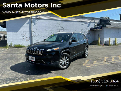 2018 Jeep Cherokee for sale at Santa Motors Inc in Rochester NY