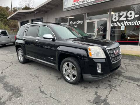 2012 GMC Terrain for sale at NO LIMIT MOTORSPORTS in Belmont NC