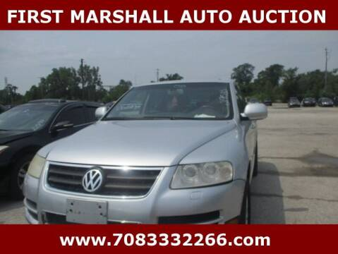 2005 Volkswagen Touareg for sale at First Marshall Auto Auction in Harvey IL