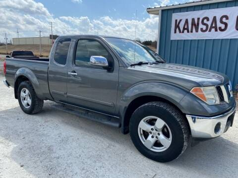 2005 Nissan Frontier for sale at Kansas Car Finder in Valley Falls KS