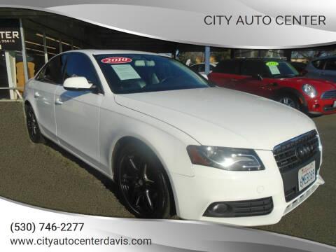 2010 Audi A4 for sale at City Auto Center in Davis CA