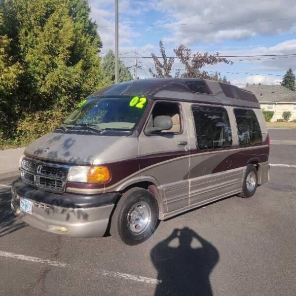 2002 Dodge Ram Van for sale at TOP Auto BROKERS LLC in Vancouver WA