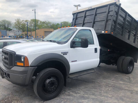 2005 Ford F-550 Super Duty for sale at Jack E. Stewart's Northwest Auto Sales, Inc. in Chicago IL