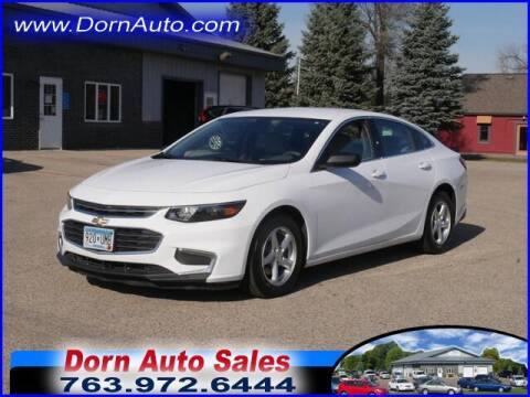 2016 Chevrolet Malibu for sale at Jim Dorn Auto Sales in Delano MN