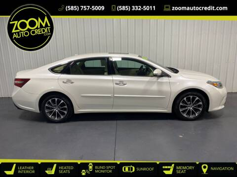 2016 Toyota Avalon for sale at ZoomAutoCredit.com in Elba NY
