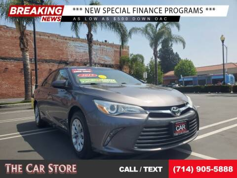 2015 Toyota Camry for sale at The Car Store in Santa Ana CA